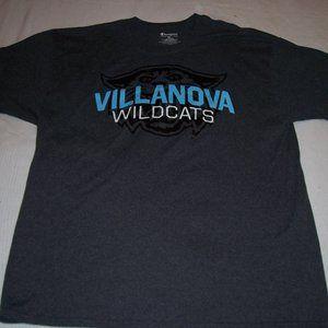 NCAA Champion Villanova Wildcats Gray S/S T/Sh XL